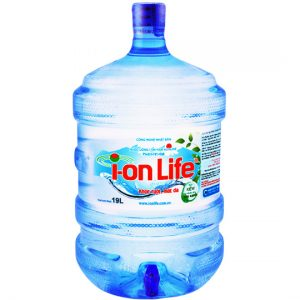 nước uống ion life bình vòi