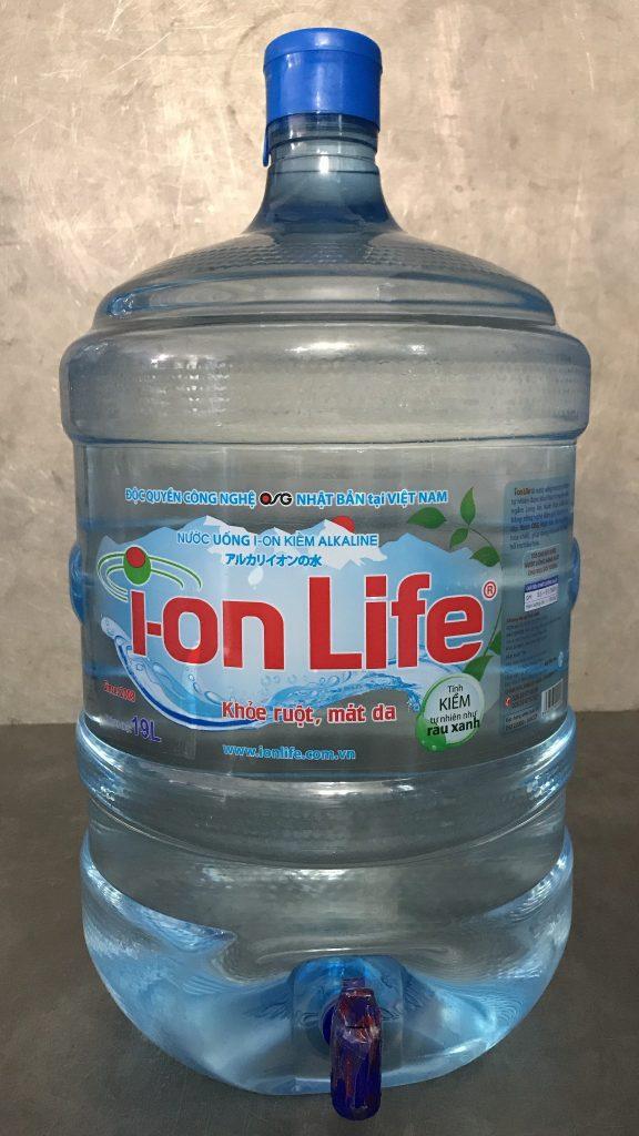 Nước uống Ion Life 19L bình có vòi