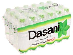 Thùng 24 chai nước tinh khiết Dasani 350ml