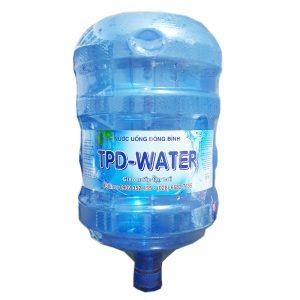 Nước tinh khiết TPD-Water 20L bình úp